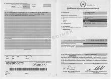 Certificat de Conformité Mercedes : Service Homologation Mercedes
