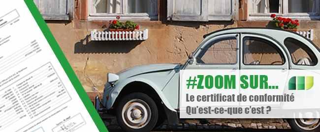 Le Certificat de Conformité Européen CoC